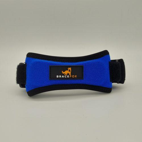 patella blauw